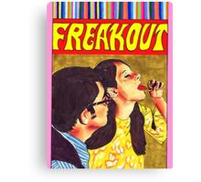 Freak Out Canvas Print