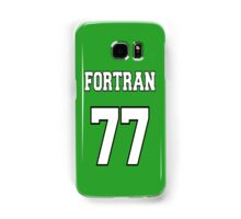 FORTRAN 77 - White on Green Design for Fortran Programmers Samsung Galaxy Case/Skin
