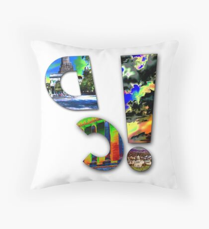 dc! Throw Pillow