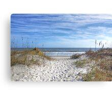 Huntington Beach Scape Canvas Print