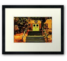 Riverdale Hall Framed Print
