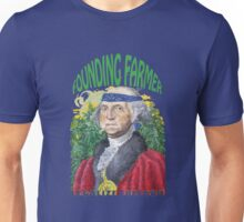 "Marijuana ""founding farmer"" George Washington Legalize Freedom t shirt  Unisex T-Shirt"