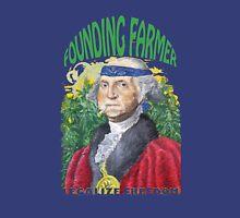 """Marijuana """"founding farmer"""" George Washington Legalize Freedom t shirt  Unisex T-Shirt"""