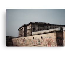 The Berlin Wall, 1991  Canvas Print