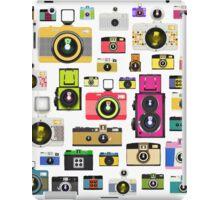 vintage camera pattern iPad Case/Skin
