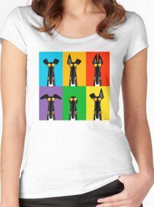 Greyhound Semaphore Women's Fitted Scoop T-Shirt