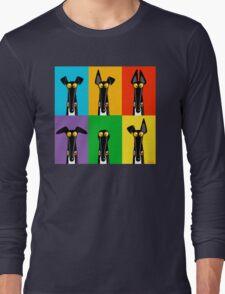 Greyhound Semaphore Long Sleeve T-Shirt