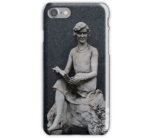 Stone Girl Reading iPhone Case/Skin