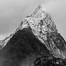 Mitre Peak - Milford Sound, New Zealand by Matthew Kocin