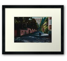 Billyard Avenue Framed Print