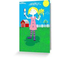 Maggie Ann Greeting Card