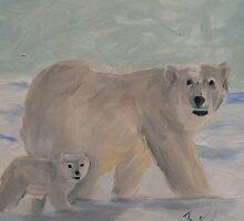 Winter Stroll by Jelena Todorovich