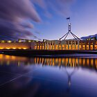 Australian Parliament Landscape by Martin Canning