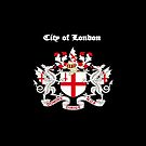 City of London iPad Case by Catherine Hamilton-Veal  