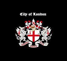 City of London iPad Case by Catherine Hamilton-Veal  ©