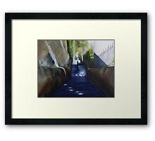 Butler Stairs Framed Print