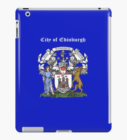 City of Edinburgh iPad Case iPad Case/Skin