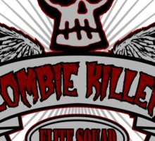 Zombie KIller Elite Squad Sticker