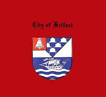 City of Belfast iPadCase by Catherine Hamilton-Veal  ©