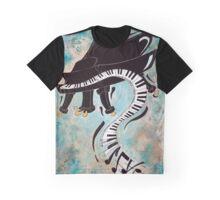 Crazy piano Graphic T-Shirt
