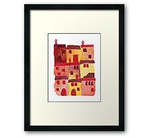Tuscan Holiday Framed Print
