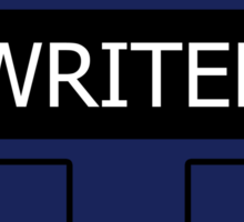 Writer's Vest Sticker
