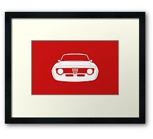 Giulia Sprint GTA  Framed Print