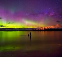 Randalls Bay Aurora Tasmania #6 by Chris Cobern