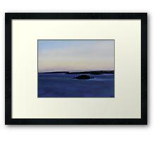 Clarke Island Framed Print
