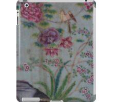 Flowers and Bird iPad Case/Skin