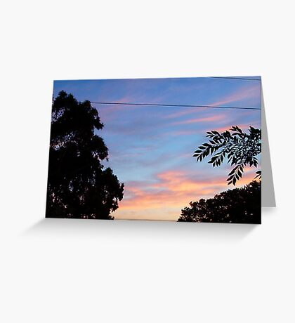 Dawn One - 24 10 12 Greeting Card
