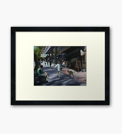 Village Heart Framed Print