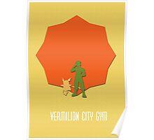 Vermillion City Gym Poster