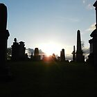Cemetery at Dawn by SHappe