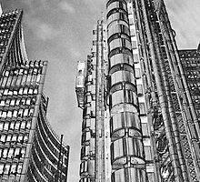 Willis Group and Lloyd's of London Art by DavidHornchurch