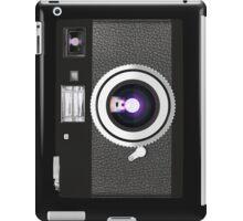 retro camera collection iPad Case/Skin