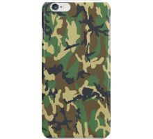 Camo case1 iPhone Case/Skin