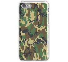 Camo case1 iPhone Case/Skin