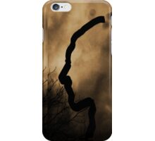 Silhouette of a Face iPhone Case/Skin