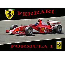 Ferrari Formula 1 Competition  Photographic Print