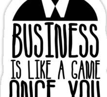 Business Game Sticker