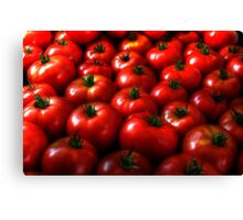Ripe Tomatoes Canvas Print