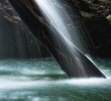 The Base of Cave Creek Falls by Kristin Repsher