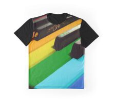 Piano color Graphic T-Shirt