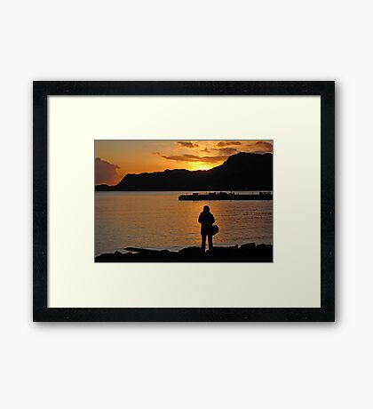 Right Time, Right Place  Framed Print