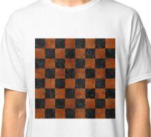 SQR1 BK MARBLE BURL Classic T-Shirt