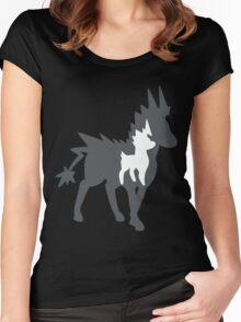 PKMN Silhouette - Blitzle Family Women's Fitted Scoop T-Shirt