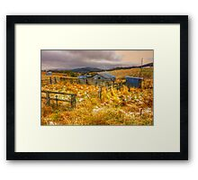 Baby It's Cold Outside - Revisited - Oberon NSW Australia - The HDR Experience Framed Print