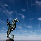 Boy on Seahorse by Chris Prior