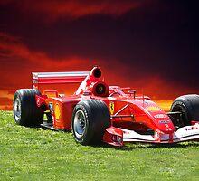 2001 Ferrari Formula 1 (F1) by DaveKoontz